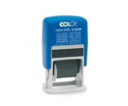 Mini Printer COLOP S 120/W Hasła